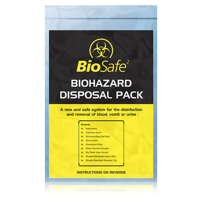 Body Fluid & Sharps Disposal Packs