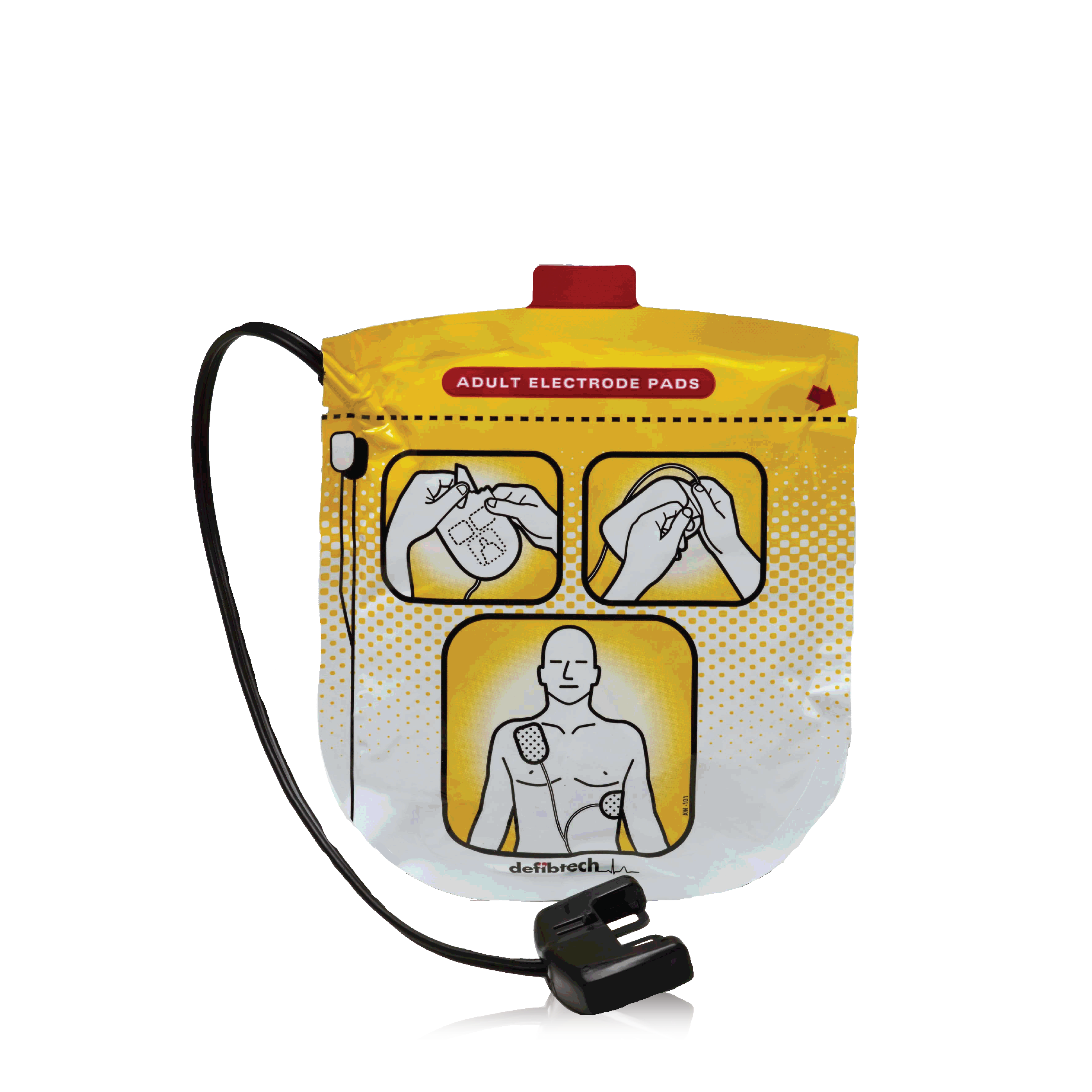 Adult Defibrillation Pads (VIEW)