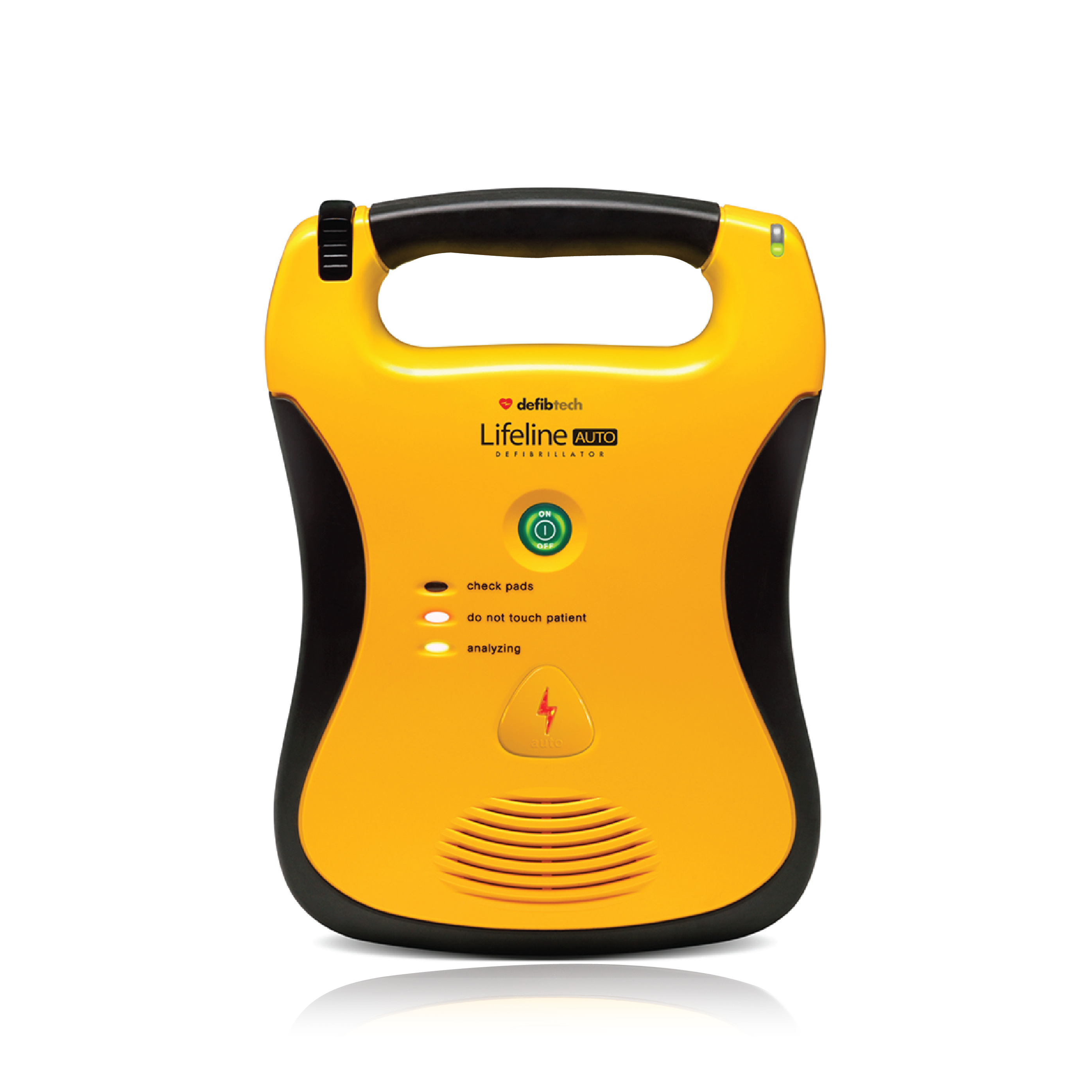 Lifeline Fully Automatic Defibrillator with Standard Capacity