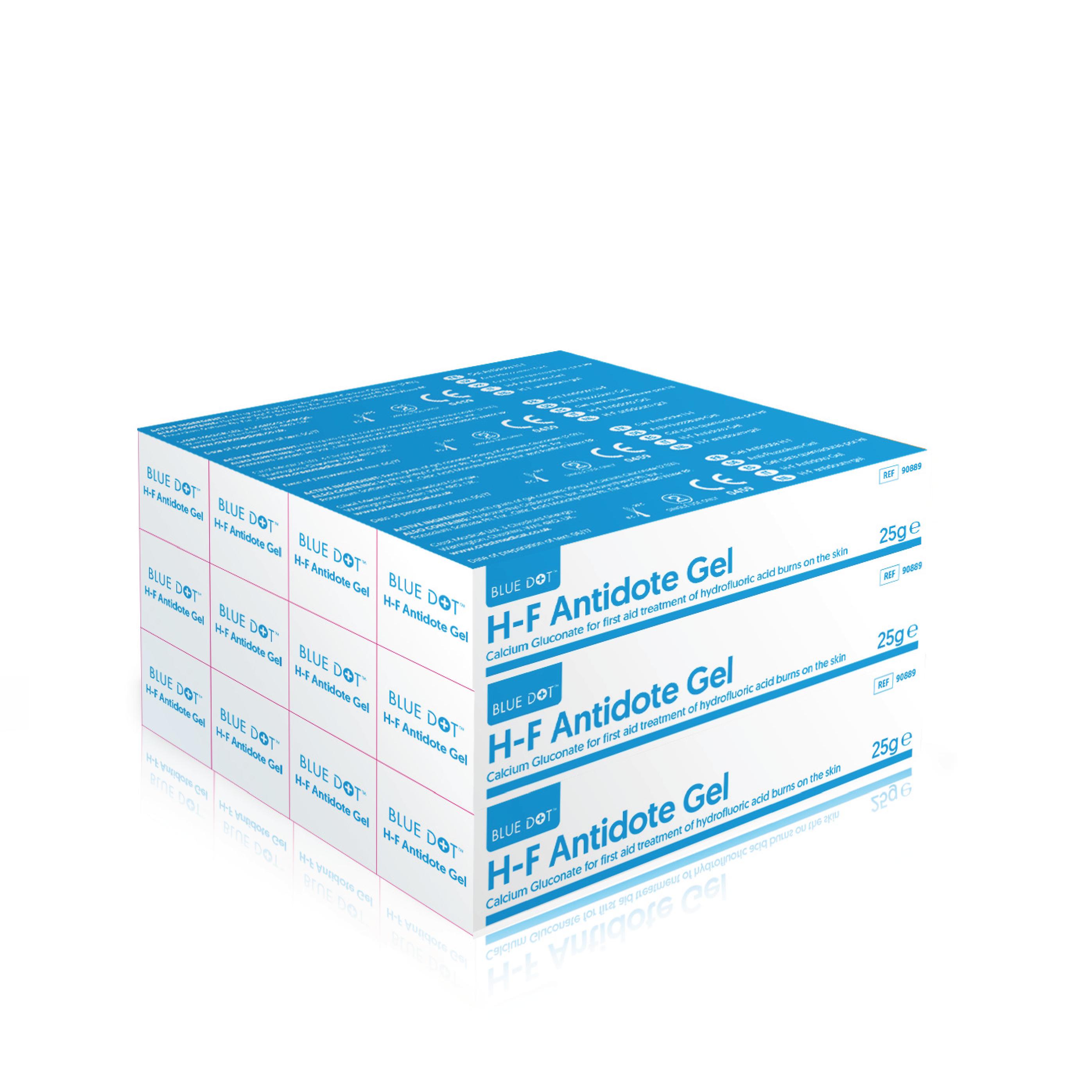 25g Blue Dot H-F Antidote Gel (Pack of 12)