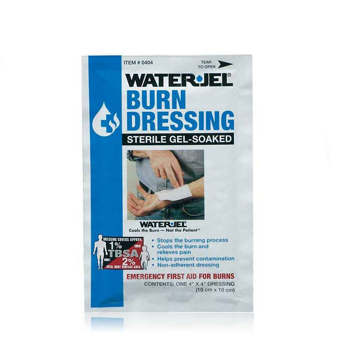 Water-Jel Sterile Burn Dressing 4'' x 4''