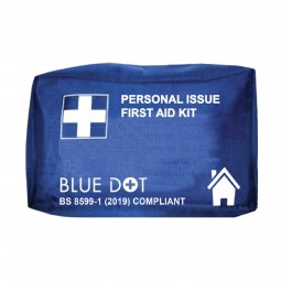 Personal Issue First Aid Kit - Blue Zipped Bag