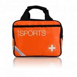 Blue Dot Multi Sports First Aid Kit Complete in Medium Orange Bag
