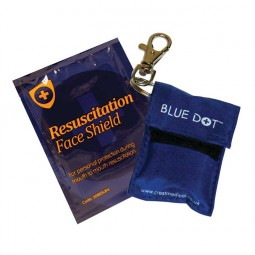 Resus Shield + Blue Nylon Pouch