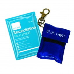 Resuscitation Face Shield And Keyring Pouch