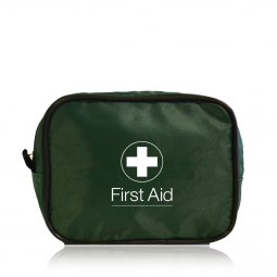 Travel First Aid Kit One Person - Green Bag