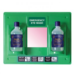 Green Eye Wash Panel