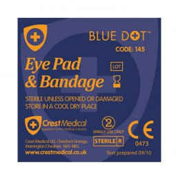 Eye Pad Universal Loop Bandage