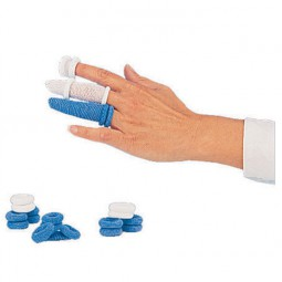 Fingerbob Blue Tubular Finger Bandage