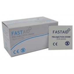 Fast Aid® Pre-Injection Swabs