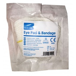 Eye Pad Dressing – Loop Bandage