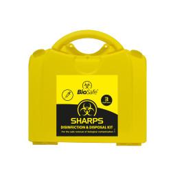 Sharps Disinfection & Disposal Kit 3 Application (PGB Medium)