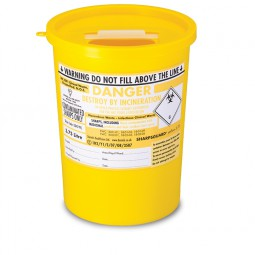 Sharps Disposal Container 3.75Ltr