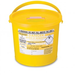 Sharps Disposal Container 7.0Ltr
