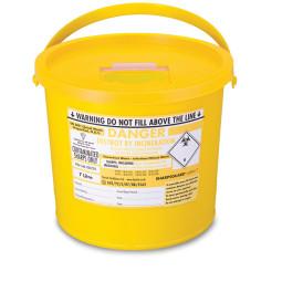 Sharps Disposal Container Bin (7.0 Litre)