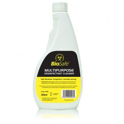 BioSafe Disinfectant Clear Spray 500ml