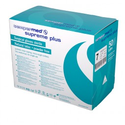 Supreme Plus+ Latex Surgical Gloves - Powder Free - Sterile