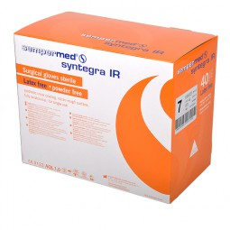 Polyisoprene Syntegra IR Surgical Gloves - Powder Free - Sterile