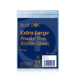 Nitrile Gloves - 1 Pair Extra Large