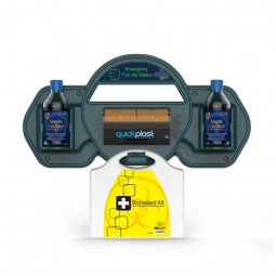 First Aid Station With Biosafe First Aid Kit