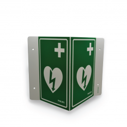 AED Sign Green (Each)