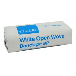 White Open Wove (WOW) Bandages